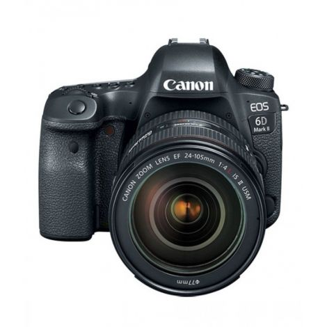 Canon EOS 6D Mark II DSLR Camera with 24-105mm f4 Lens
