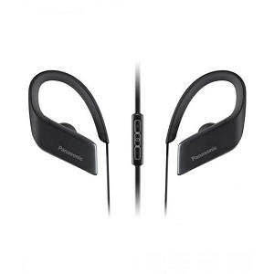 Panasonic WINGS Wireless Bluetooth Sport Earbuds RP-BTS30-K