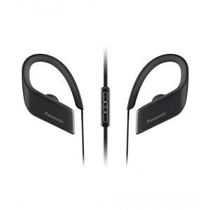 Panasonic WINGS Wireless Bluetooth Sport Earbuds RP-BTS30-K