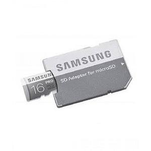 Samsung 16GB Pro microSDHC Memory Card