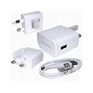 Samsung 5.0V 2.0A  Fast Charger With Cable White