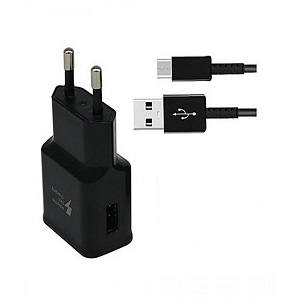 Samsung Fast Charger With Cable Black For Galaxy S8