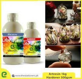 1.5 Kg Epoxy Art Resin And Hardener For Craft Working