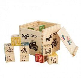 ABC Wooden Blocks - 27 Piece