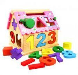 Best Montessori Toys - Intelligent House Number Blocks