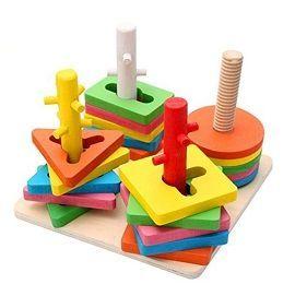 Buy 4-Set Of Column Shape - Kids Learning Toys