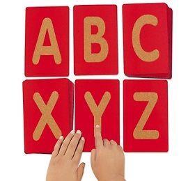 Buy Montessori Sandpaper Alphabet