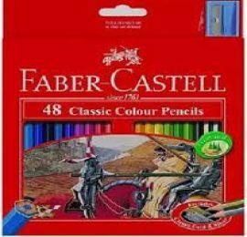 Faber Castell Classic Colour Pencils Box 48
