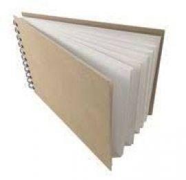 Gold Star Sketch Pad A4