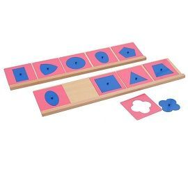 Metal Insets Montessori