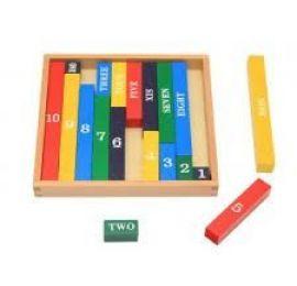 Number Rod - Number Rods Montessori