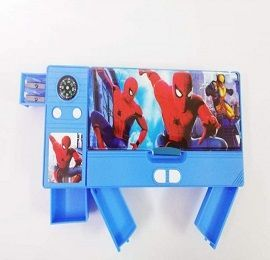 Plastic Magnetic Double-Sided Pencil Box