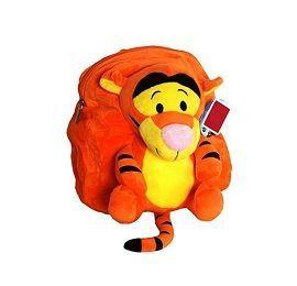 Tiger Stuffed School Bag