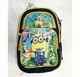Yellow Hard Cloth School Bag