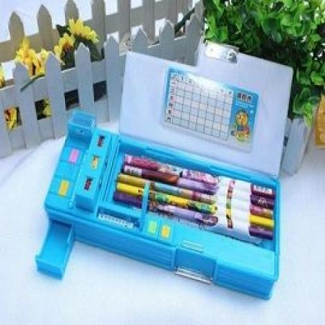 Automatic Creative Stationery Storage Boxes Double-Sided B-8055
