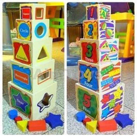 Buy Best Montessori Wooden Toys - Wisdom Shape In Pakistan