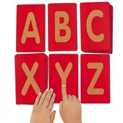 Buy Montessori Sandpaper Alphabet
