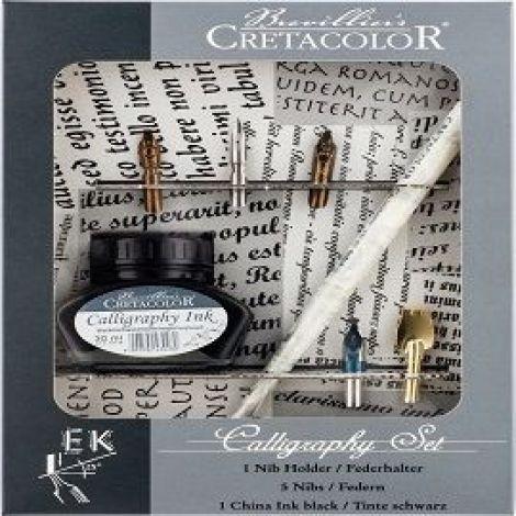 Cretacolour Calligraphy Set