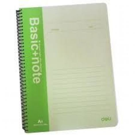 Deli Spiral Notebook, 60 Sheets A5 (7683)