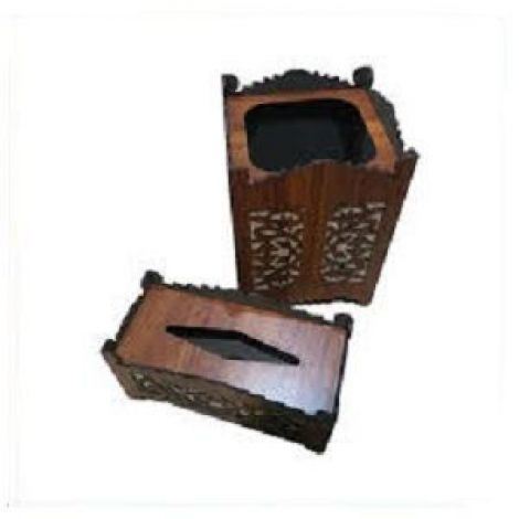 Executive Wooden Pen Stand With Visiting Card.