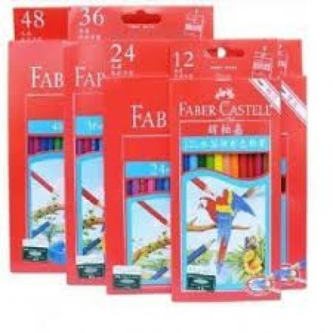 Faber Castell Soluble Color Pencils Box of 24