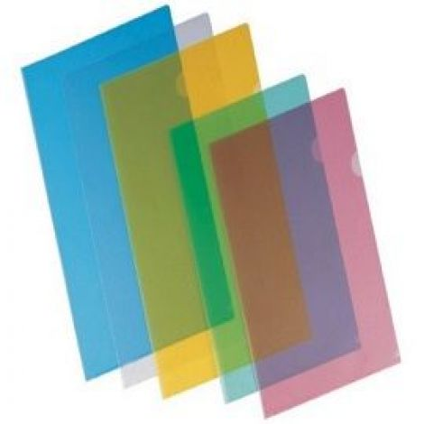 L shape Folder A4 High Quality Transparent