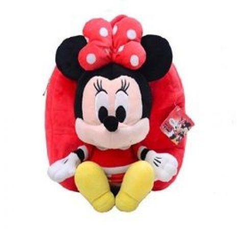Minnie Mouse Stuffed School Bag