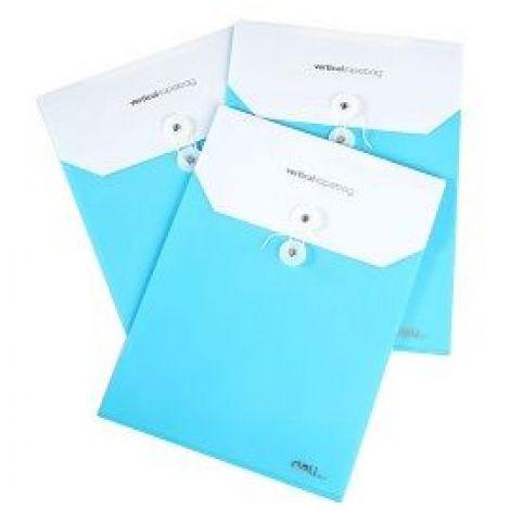 Students PVC Paper Bags Portfolio A4 Document Transparent