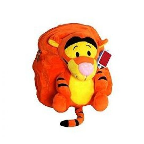 Tiger Stuffed School Bag