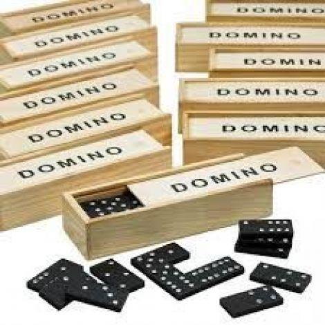 Wooden Dominoes Set 28pcs