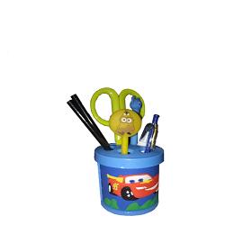 CAR Cartoon Pencil Holder - Pen Stand - Pen Holder