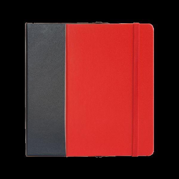 Deli 3314 PU Cover Ruled Premium Notebook 56K 120P