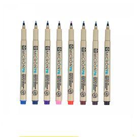 Sakura Micron Everyday Color Pens 8pcs Set