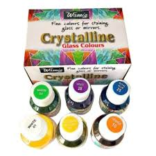 Wamiq Multi Colors Silk Color 6x 22ml Mini Glass Kit 6 Pieces Box – Multi Colors