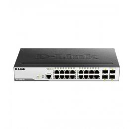 D-Link 20-Port Layer-2 Managed Gigabit Switch DGS-3000-20L