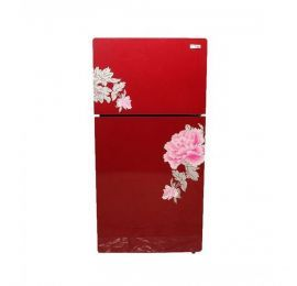 Gaba National (GNR-168) Freezer-on-Top Glass door Refrigerator