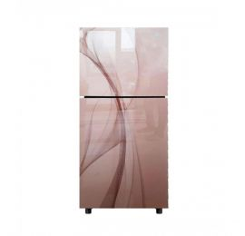Orient Crystal 540 Freezer-on-Top 20 Cu Ft Refrigerator Glaze Golden