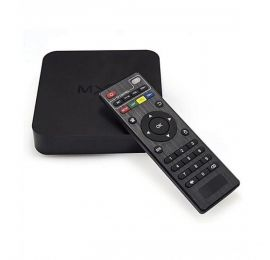Remax Android 4K Smart TV Box Black