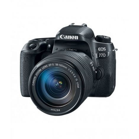 Canon EOS 77D DSLR Camera With 18-135mm IS USM Lens