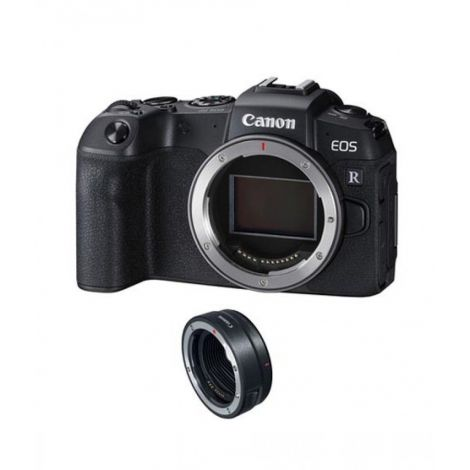 Canon EOS RP Mirrorless Digital Camera Body With Mount Adapter