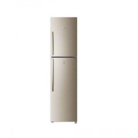 Haier HRF-246 ECD E-Star Freezer-on-Top Refrigerator Golden