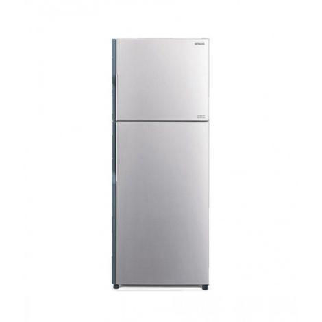 Hitachi (R-V490P3PB) Freezer-on-Top 13 cu ft Refrigerator Silver