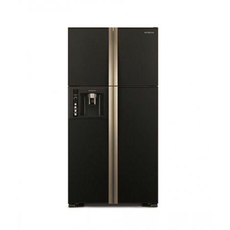 Hitachi (R-W690P3PB) French Door  21 cu ft Refrigerator