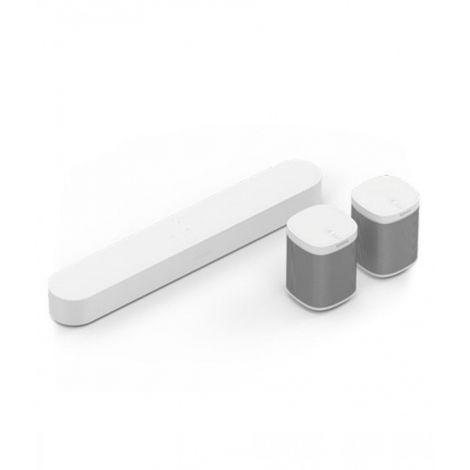 Sonos Play 1 Wireless Speaker With Beam Set Of 3