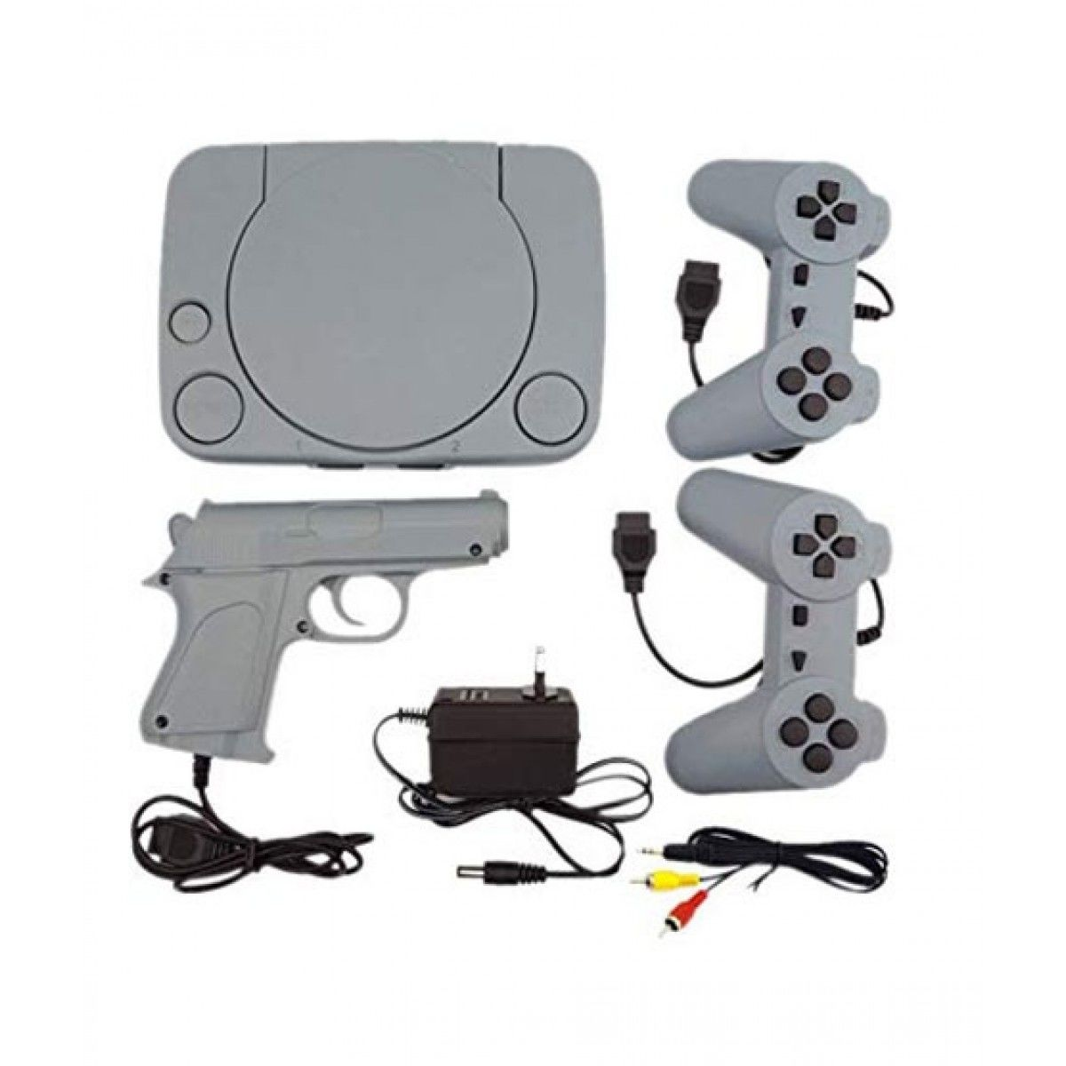 8 Bit TV Video Game Console with Inbuilt Games
