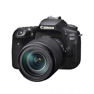Canon EOS 90D DSLR Camera with 18-135mm IS USM Lens