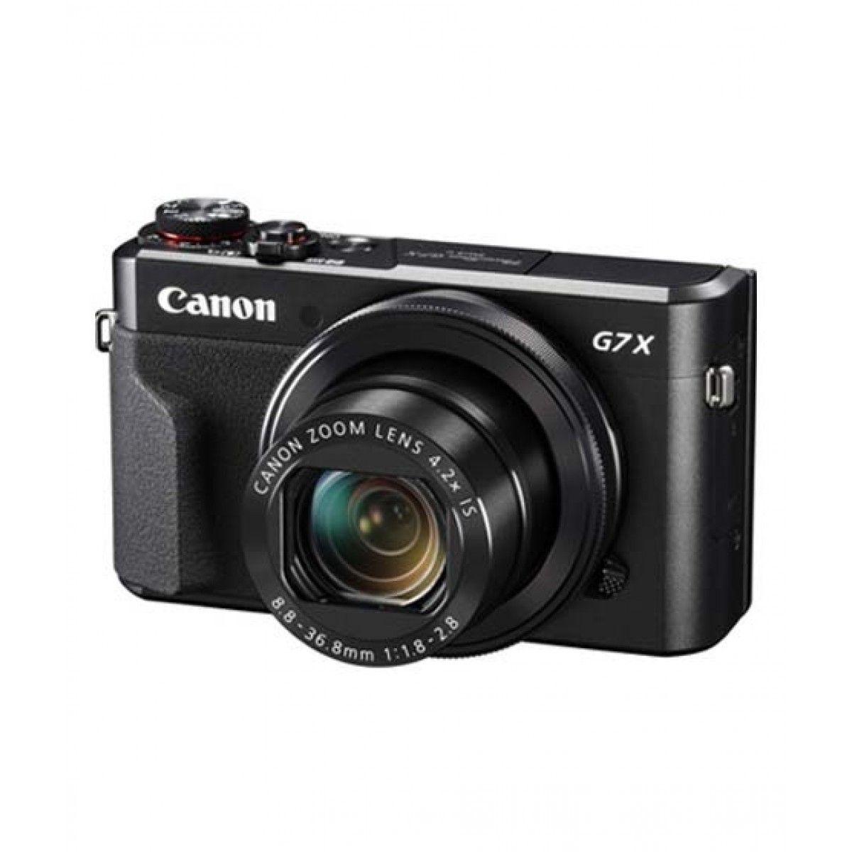 Canon PowerShot G7 X Mark II Digital Camera Black