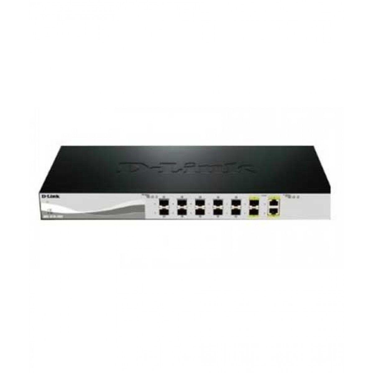 D-Link 12-Port Smart Managed Ethernet Switch (DXS-1210-12SC)