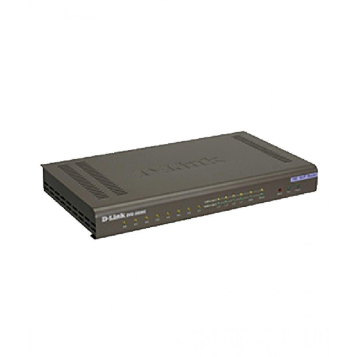 D-Link built-in 8 FXS VoIP Gateway DVG-5008S