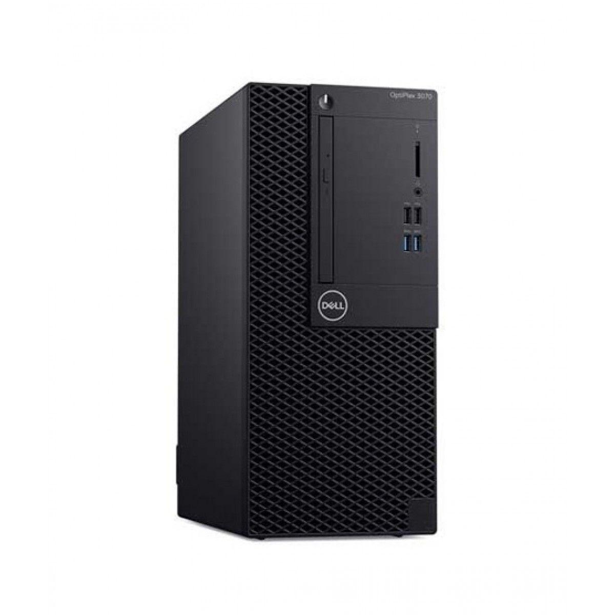 Dell Optiplex 3070 MT Core i3 9th Gen 4GB 1TB Desktop PC - Official Warranty